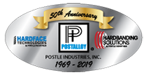 Postle 50th Anniversary Logo